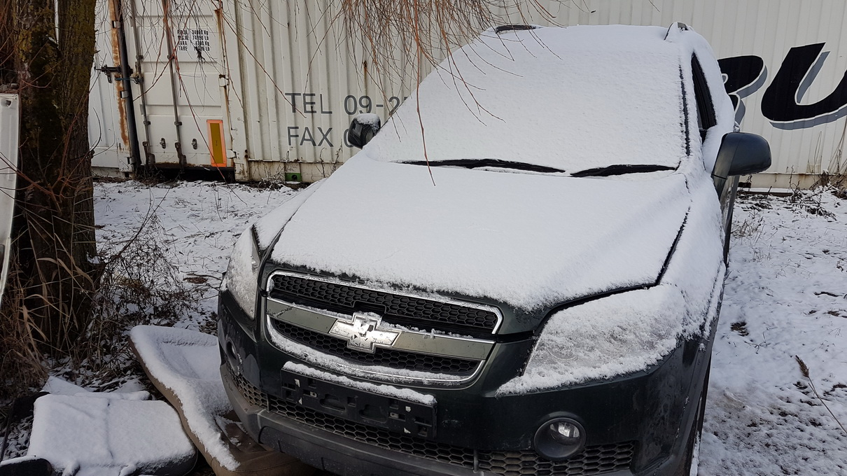 Naudotos automobilio dalys Chevrolet CAPTIVA 2009 2.0 Automatinė Visureigis 4/5 d. Zalia 2016-12-29