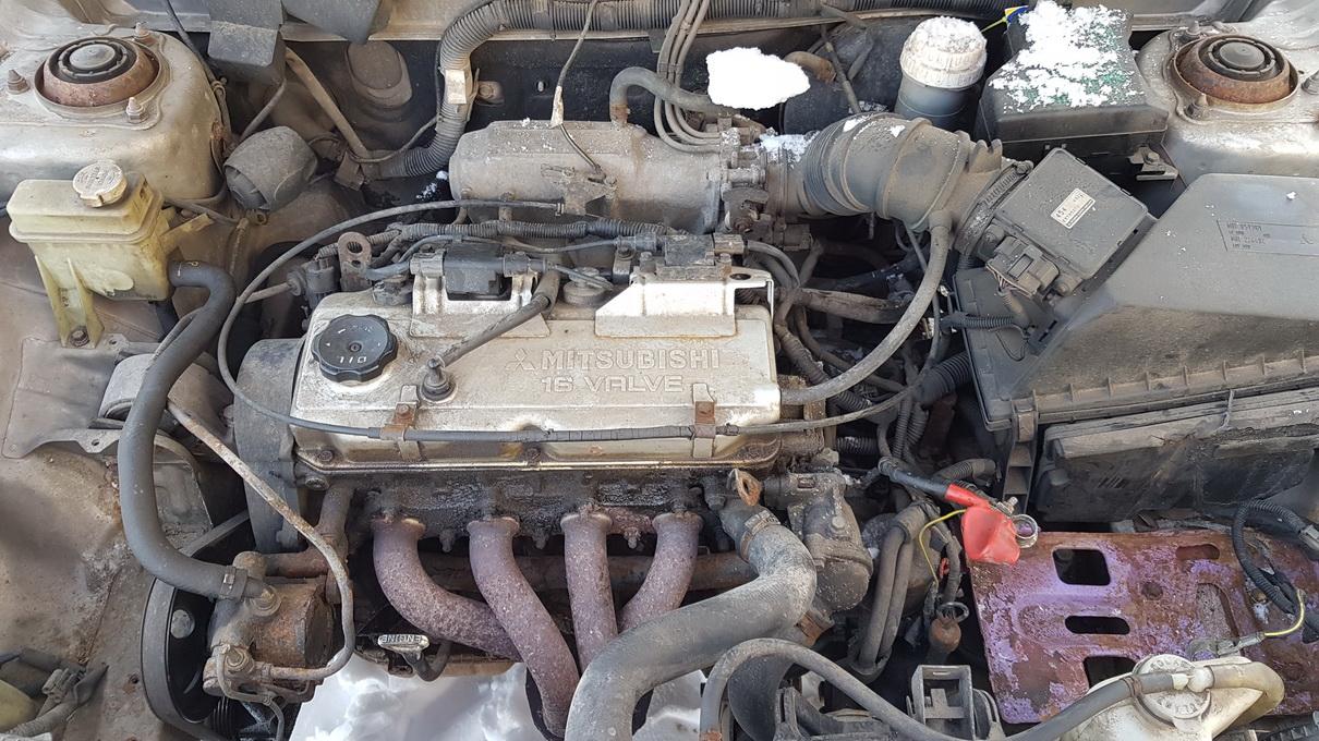 Подержанные Автозапчасти Foto 8 Mitsubishi CARISMA 1996 1.6 автоматическая хэтчбэк 4/5 d. Серый 2017-1-09 A3148