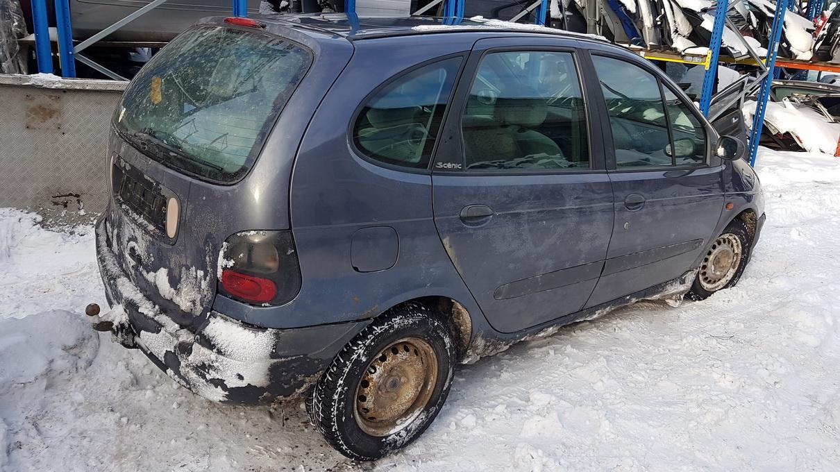 Naudotos automobilio dalys Renault SCENIC 1997 1.6 Mechaninė Vienatūris 4/5 d. Violetine 2017-1-18
