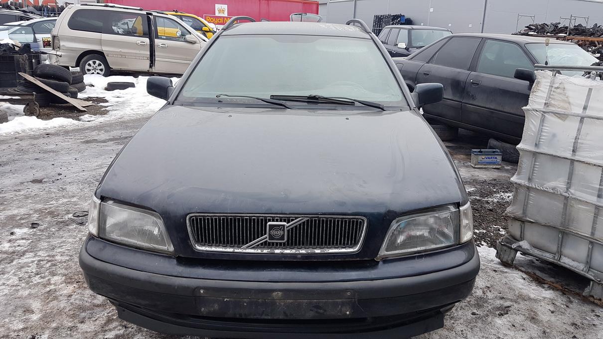 Naudotos automobilio dalys Volvo V40 1998 1.9 Mechaninė Universalas 4/5 d. Juoda 2017-2-14