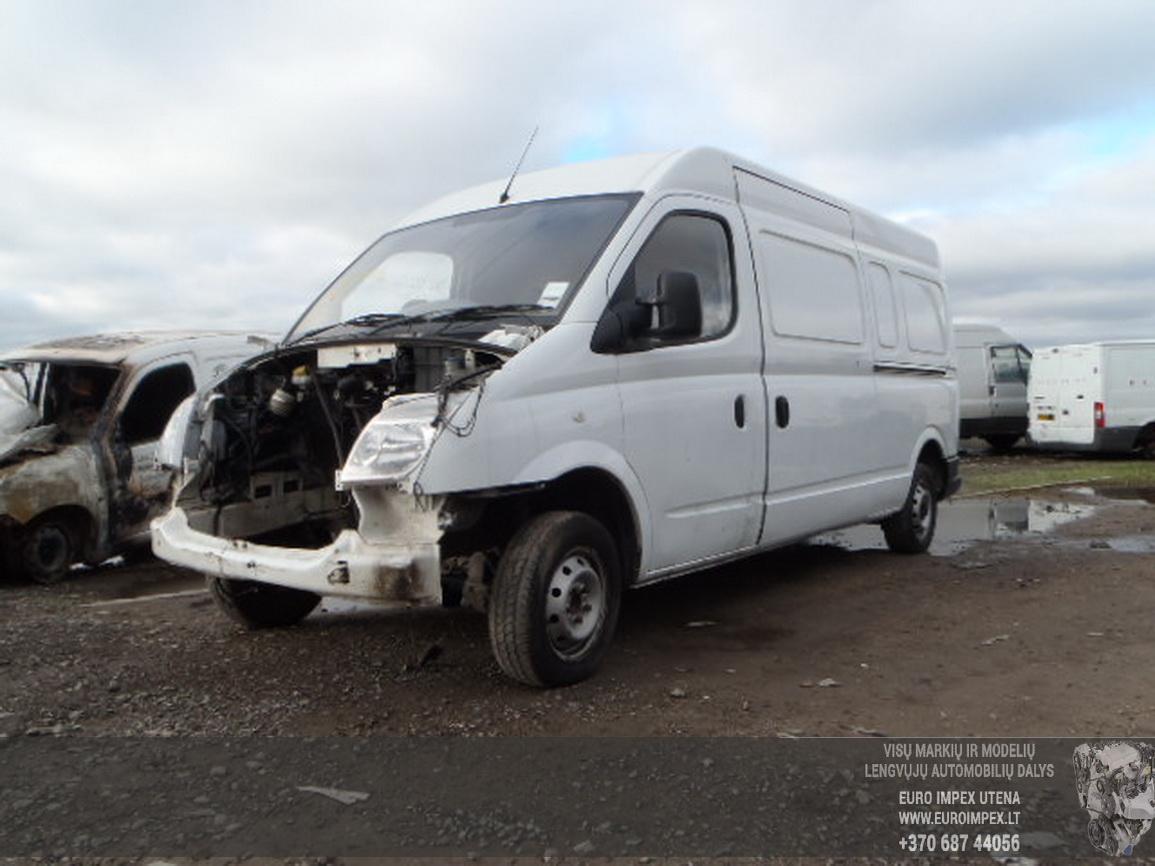 Naudotos automobilio dalys LDV MAXUS 2005 2.5 Mechaninė Komercinis 4/5 d. Balta 2015-12-21