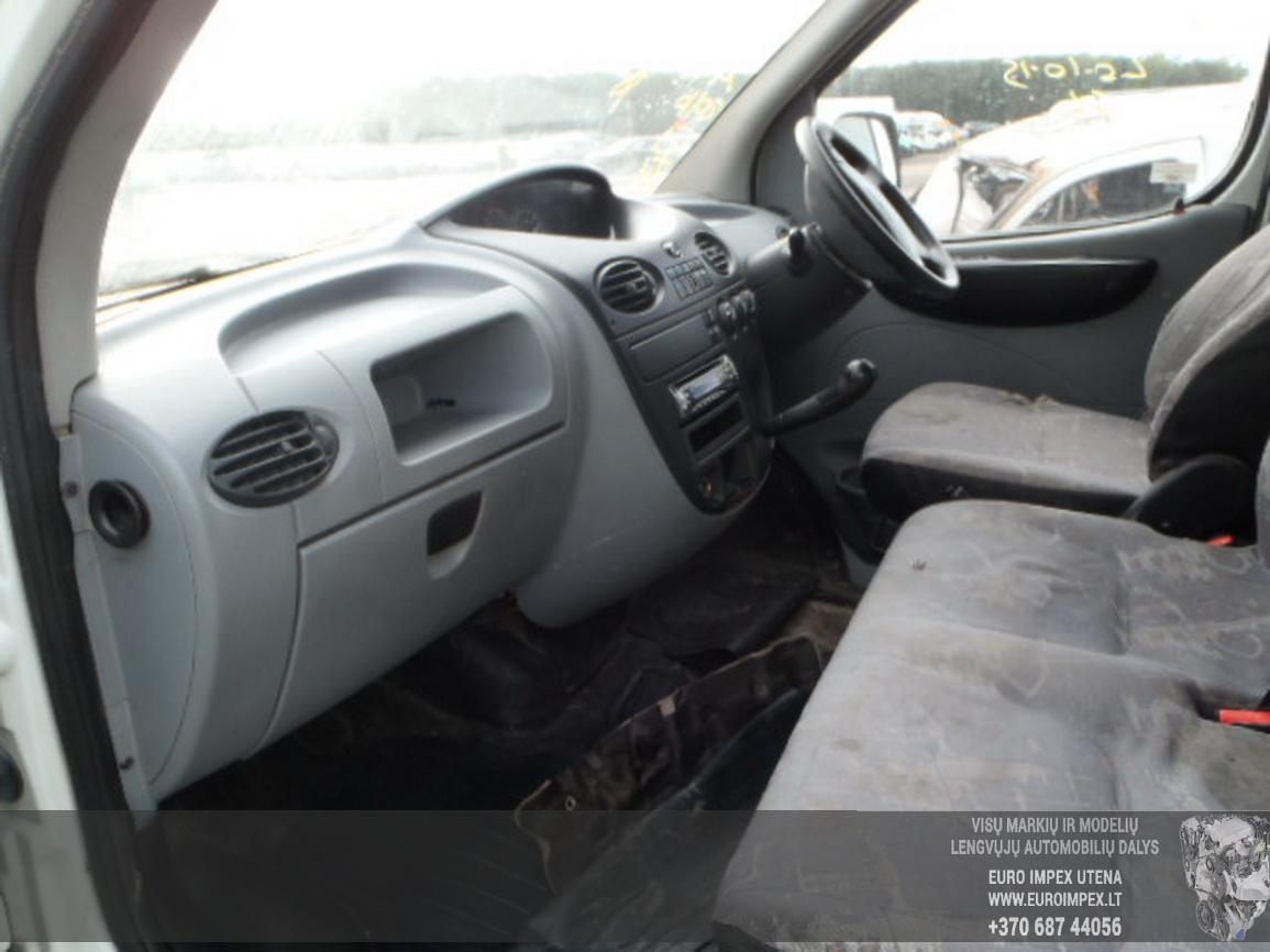 Naudotos automobiliu dallys Foto 5 LDV MAXUS 2005 2.5 Mechaninė Komercinis 4/5 d. Balta 2015-12-21 A2507