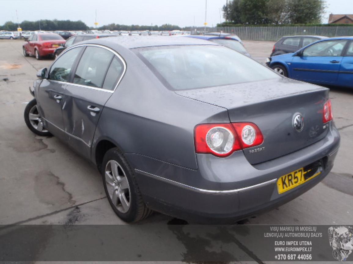 Naudotos automobiliu dallys Foto 2 Volkswagen PASSAT 2007 2.0 Mechaninė Sedanas 4/5 d. Pilka 2015-12-21 A2514