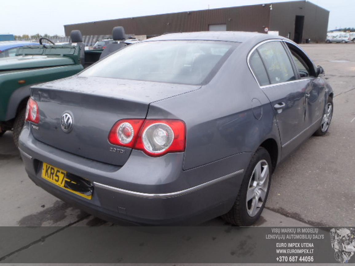 Naudotos automobiliu dallys Foto 3 Volkswagen PASSAT 2007 2.0 Mechaninė Sedanas 4/5 d. Pilka 2015-12-21 A2514