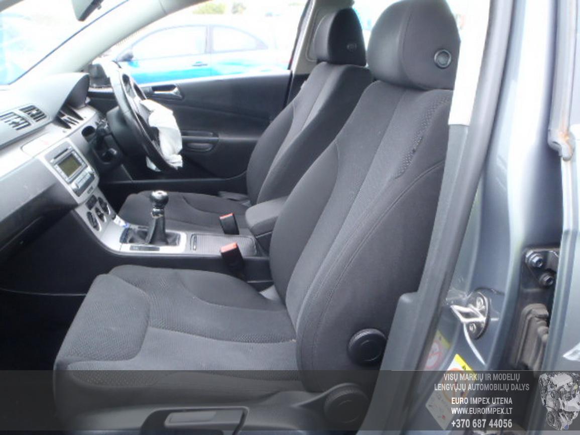 Naudotos automobiliu dallys Foto 5 Volkswagen PASSAT 2007 2.0 Mechaninė Sedanas 4/5 d. Pilka 2015-12-21 A2514
