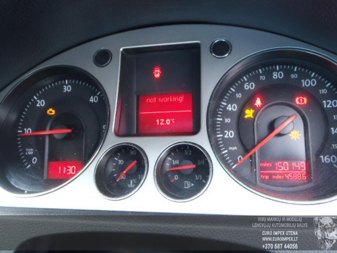 Naudotos automobiliu dallys Foto 6 Volkswagen PASSAT 2007 2.0 Mechaninė Sedanas 4/5 d. Pilka 2015-12-21 A2514