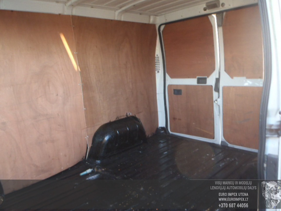 Naudotos automobilio dalys Fiat DUCATO 2006 2.0 Mechaninė Krovininis mikroautobusas 2/3 d. Balta 2015-12-21