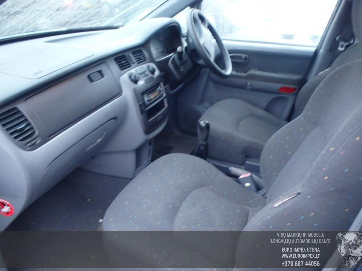 Naudotos automobiliu dallys Foto 5 Hyundai TRAJET 2003 2.0 Mechaninė Vienatūris 4/5 d. Pilka 2016-1-07 A2531