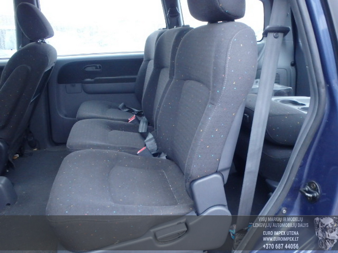 Naudotos automobilio dalys Hyundai TRAJET 2003 2.0 Mechaninė Vienatūris 4/5 d. Pilka 2016-1-07