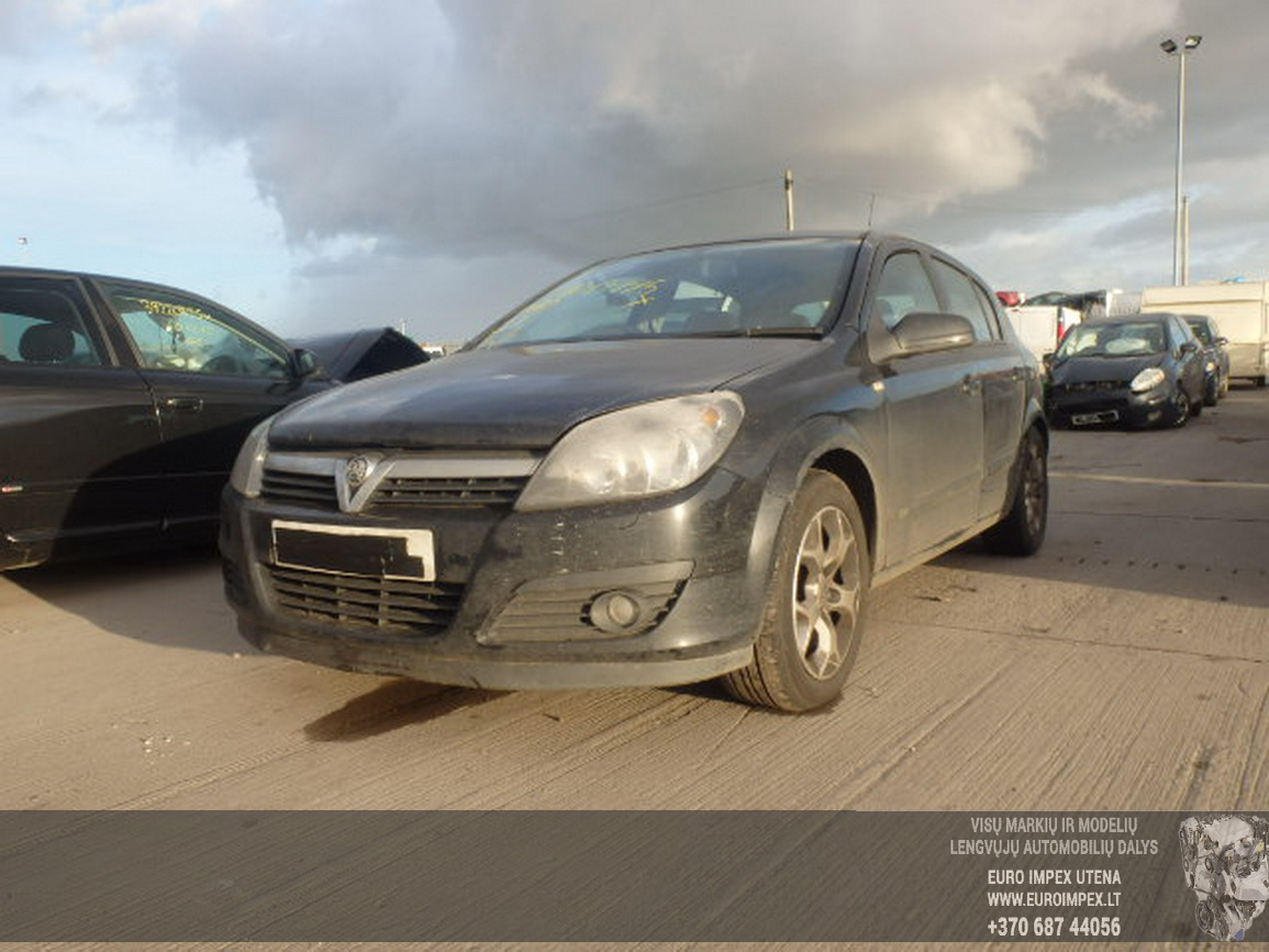 Opel ASTRA 2007 1.7 Mechaninė