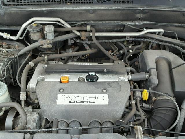 Naudotos automobiliu dallys Foto 8 Honda CR-V 2003 2.0 Mechaninė Visureigis 4/5 d. Juoda 2017-1-02 A3138