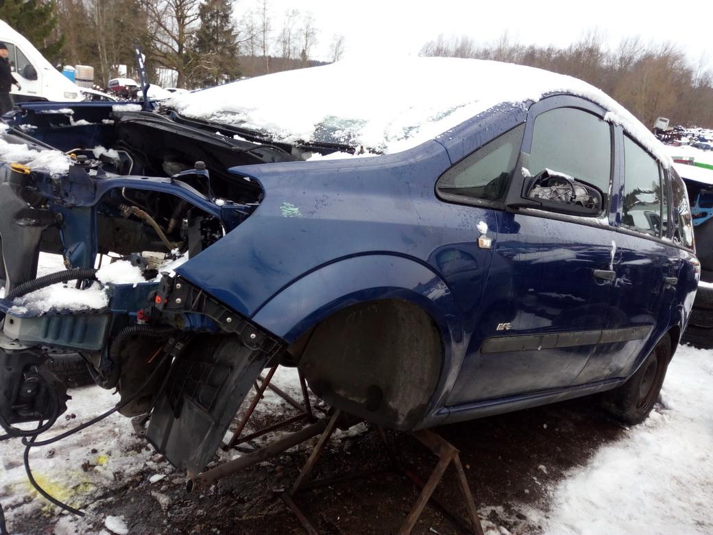 Naudotos automobilio dalys Opel ZAFIRA 2008 1.6 Mechaninė Vienatūris 4/5 d. Melyna 2016-12-01
