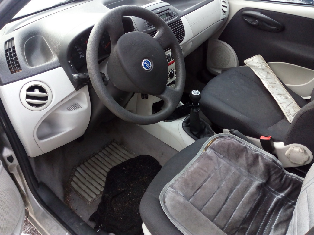 Naudotos automobilio dalys Fiat PUNTO 2003 1.2 Mechaninė Hečbekas 4/5 d. Pilka 2016-12-01