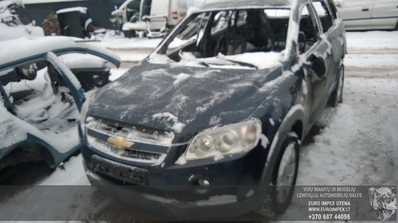 Naudotos automobiliu dallys Foto 2 Chevrolet CAPTIVA 2010 2.0 Mechaninė Visureigis 4/5 d. Melyna 2016-1-08 A2536