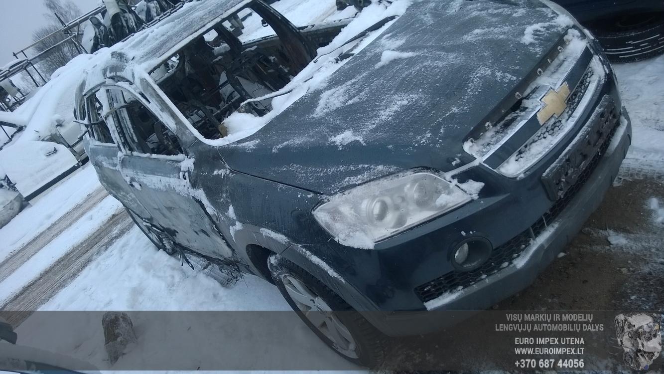 Naudotos automobiliu dallys Foto 3 Chevrolet CAPTIVA 2010 2.0 Mechaninė Visureigis 4/5 d. Melyna 2016-1-08 A2536