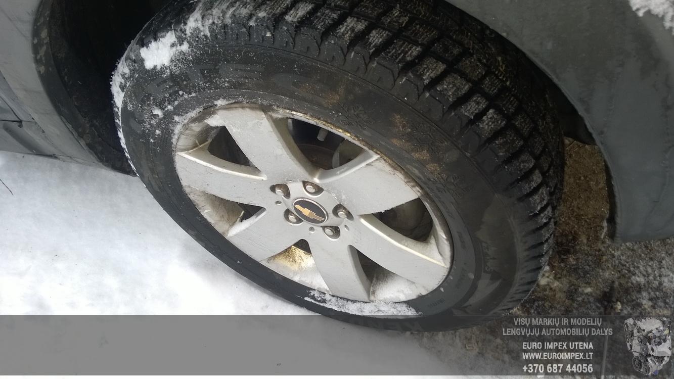 Naudotos automobiliu dallys Foto 4 Chevrolet CAPTIVA 2010 2.0 Mechaninė Visureigis 4/5 d. Melyna 2016-1-08 A2536