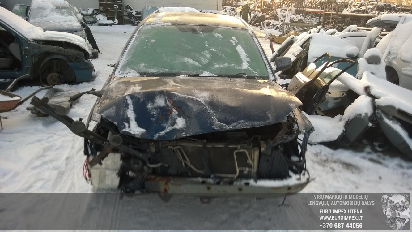 Naudotos automobiliu dallys Foto 2 Toyota AVENSIS 2004 2.0 Mechaninė Hečbekas 4/5 d. Melyna 2016-1-08 A2533