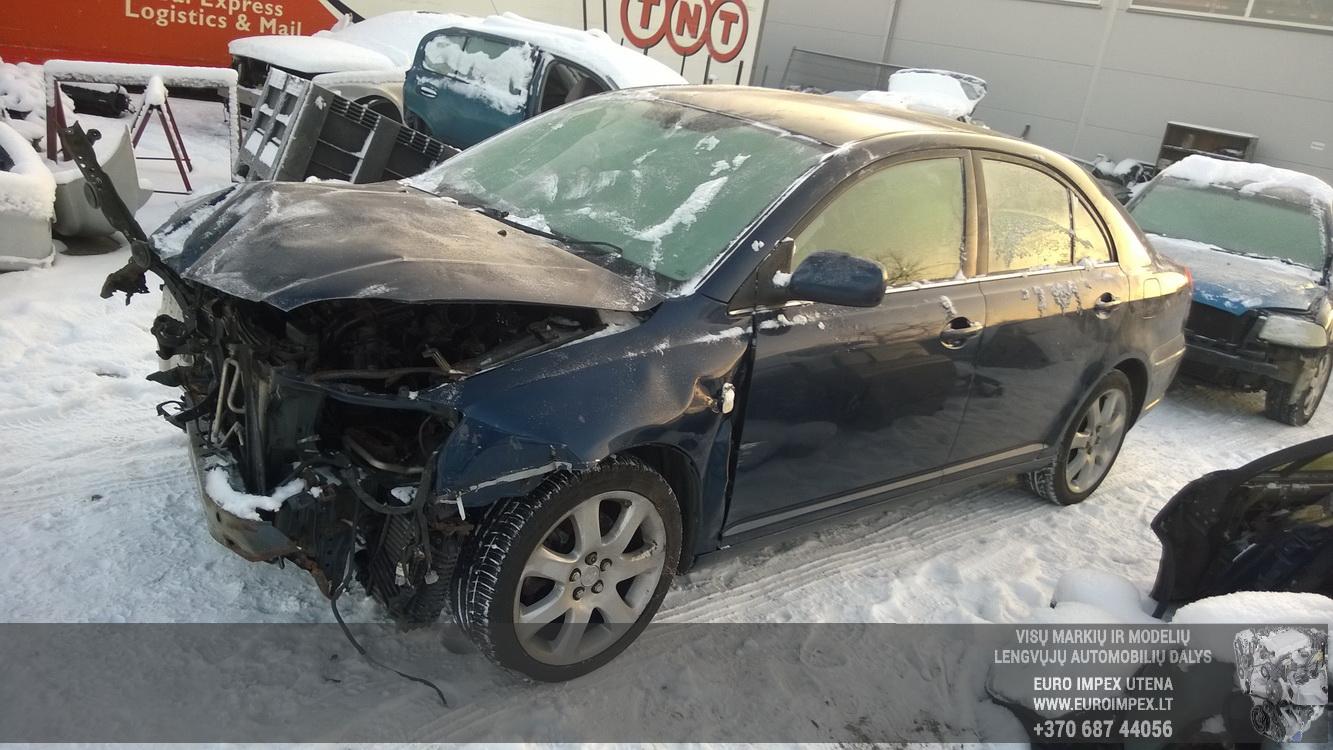 Naudotos automobiliu dallys Foto 3 Toyota AVENSIS 2004 2.0 Mechaninė Hečbekas 4/5 d. Melyna 2016-1-08 A2533