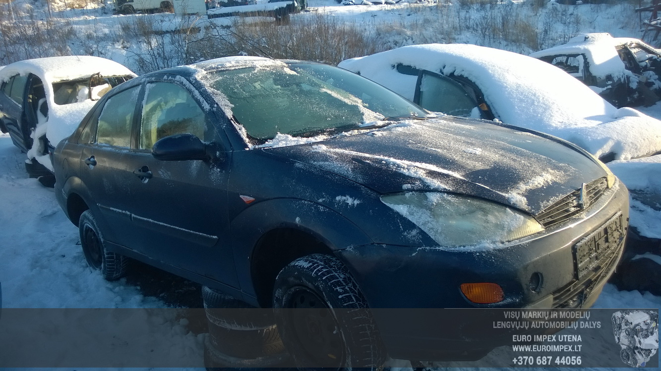 Naudotos automobiliu dallys Foto 1 Ford FOCUS 1998 1.8 Mechaninė Sedanas 4/5 d. Melyna 2016-1-18 A2556