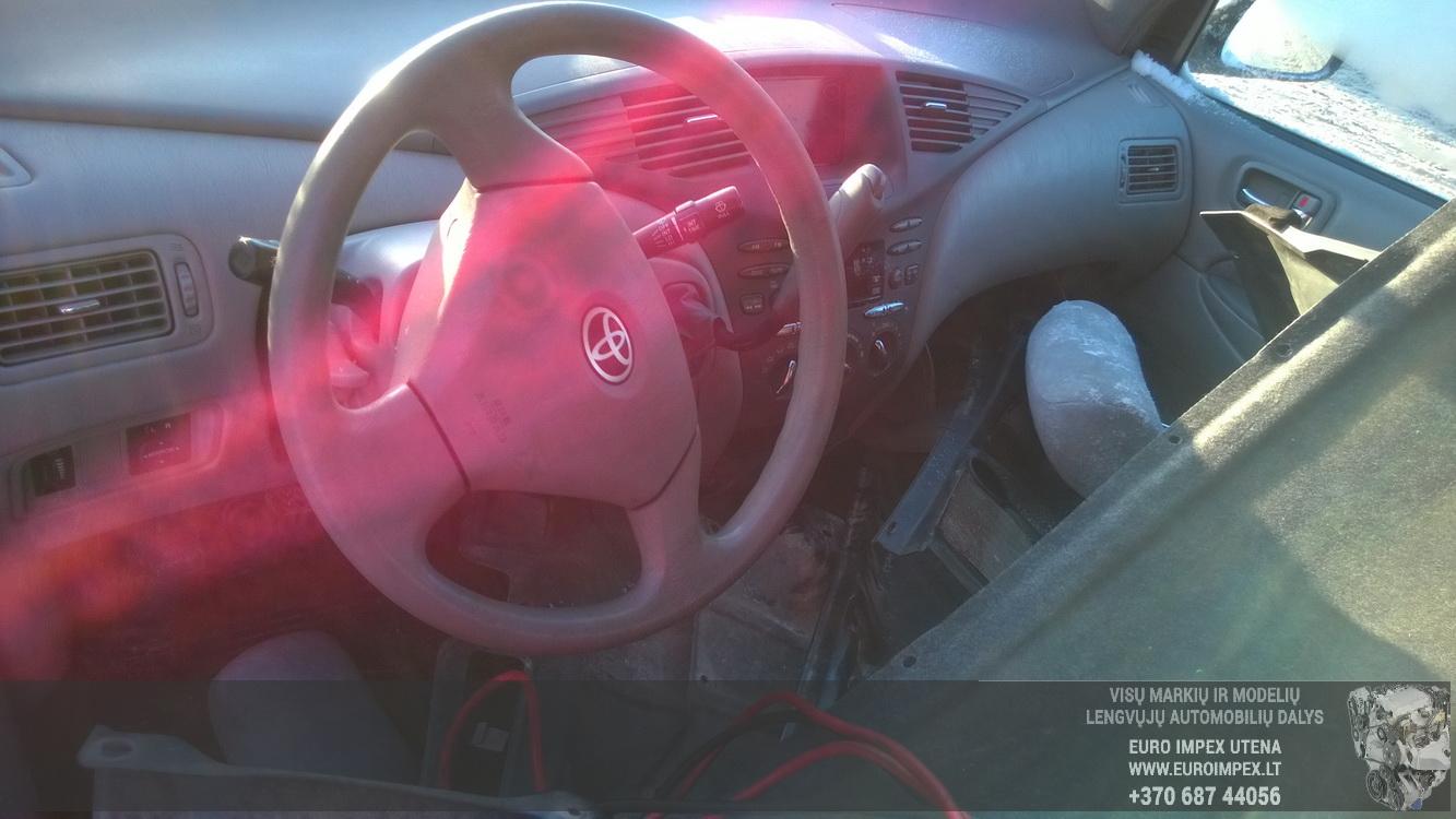 Naudotos automobiliu dallys Foto 7 Toyota PRIUS 2001 1.5 Automatinė Sedanas 4/5 d. Zydra 2016-1-18 A2561