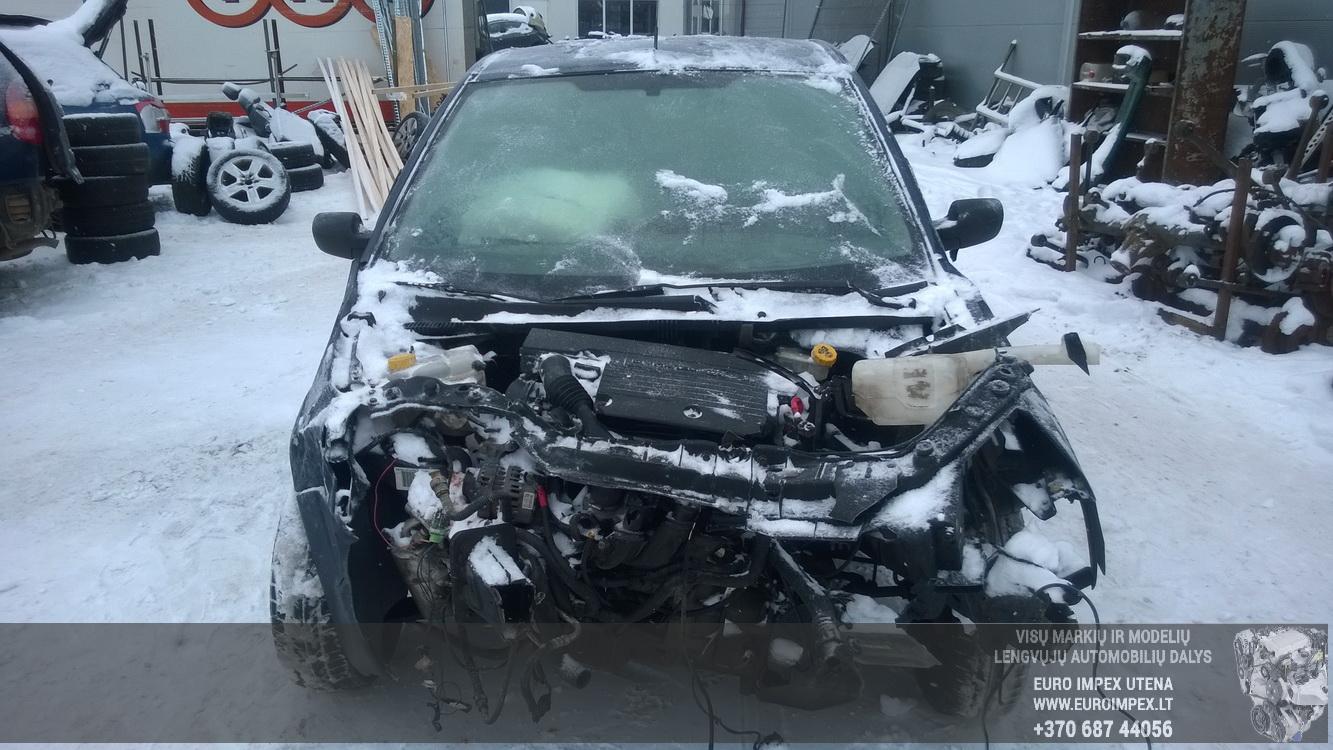 Naudotos automobiliu dallys Foto 2 Ford FIESTA 2004 1.4 Mechaninė Hečbekas 2/3 d. Melyna 2016-1-21 A2562