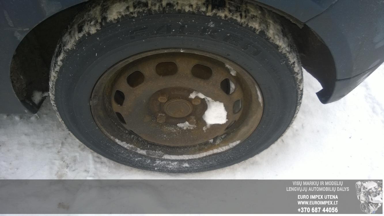 Naudotos automobiliu dallys Foto 4 Ford FIESTA 2004 1.4 Mechaninė Hečbekas 2/3 d. Melyna 2016-1-21 A2562