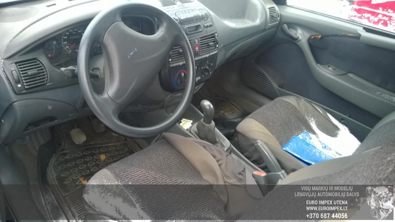 Naudotos automobilio dalys Fiat BRAVO 1998 1.9 Mechaninė Hečbekas 2/3 d. Juoda 2016-1-22