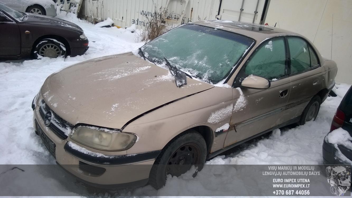 Naudotos automobiliu dallys Foto 3 Opel OMEGA 1997 2.0 Mechaninė Sedanas 4/5 d. Smelio 2016-1-22 A2573