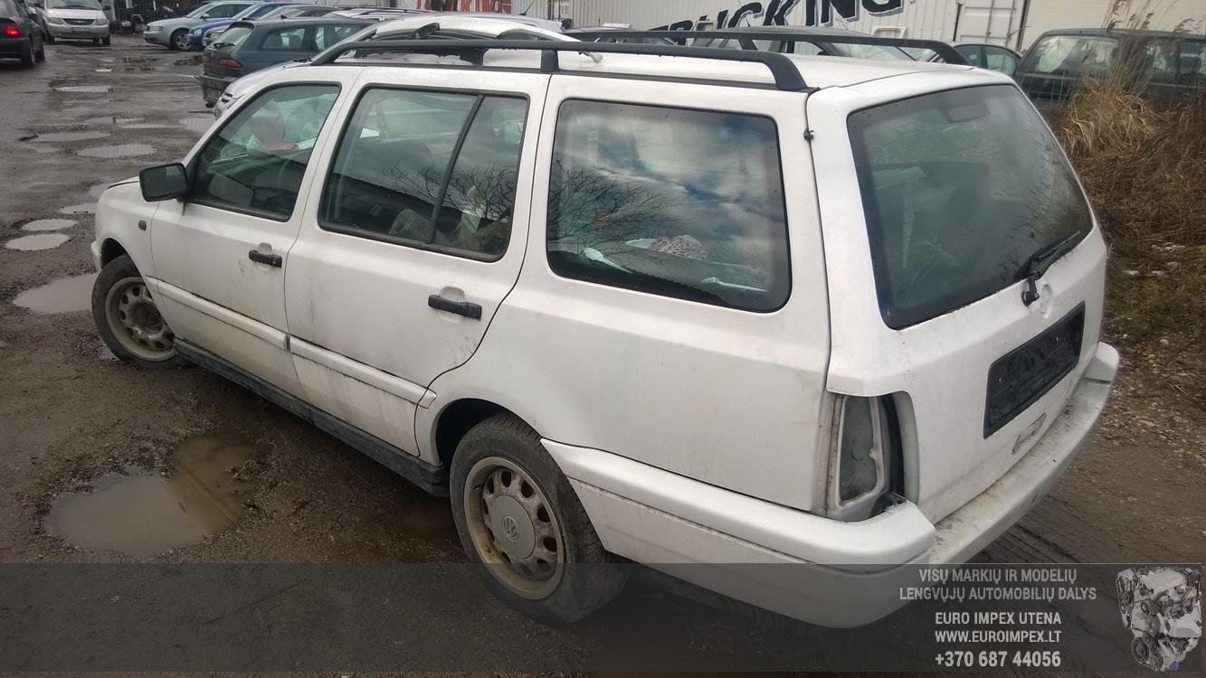 Naudotos automobilio dalys Volkswagen GOLF 1997 1.9 Mechaninė Universalas 4/5 d. Balta 2016-2-01