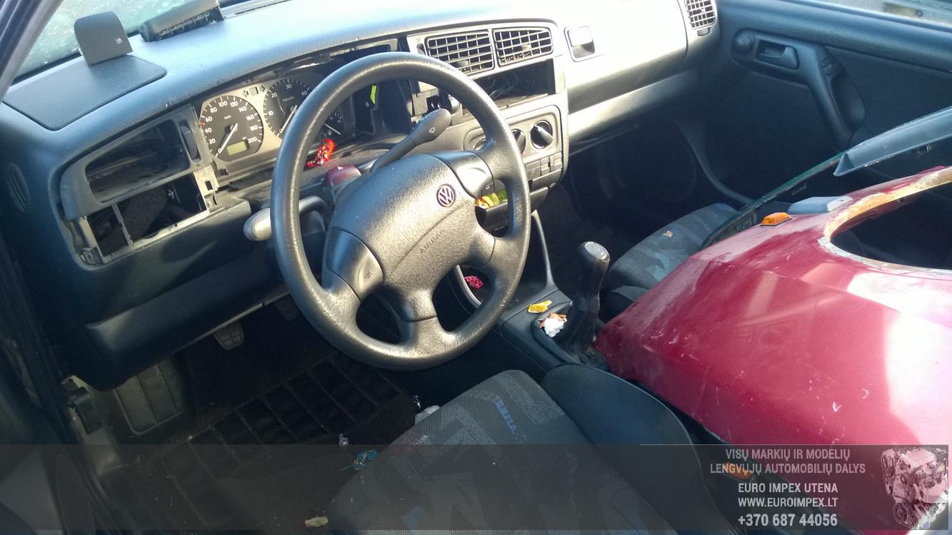 Naudotos automobiliu dallys Foto 5 Volkswagen GOLF 1998 1.9 Mechaninė Hečbekas 4/5 d. Zalia 2016-2-23 A2619