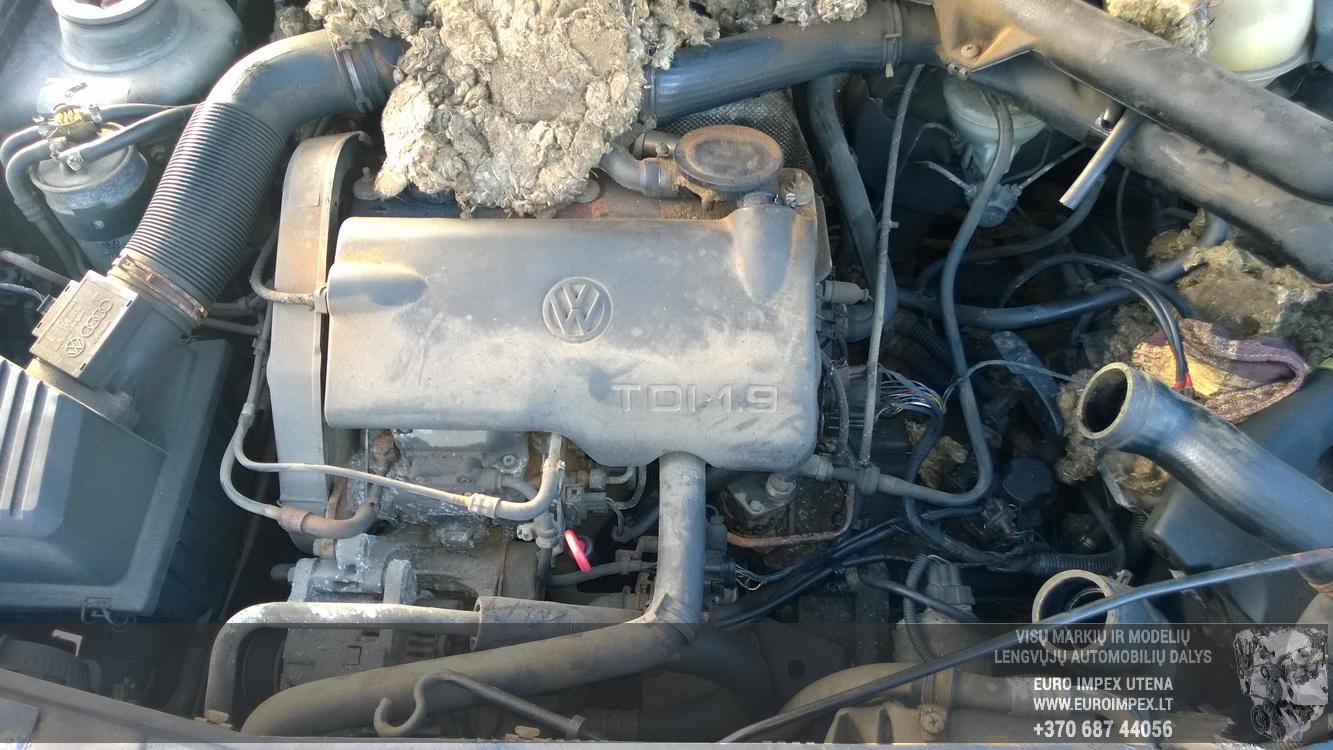 Naudotos automobiliu dallys Foto 8 Volkswagen GOLF 1998 1.9 Mechaninė Hečbekas 4/5 d. Zalia 2016-2-23 A2619