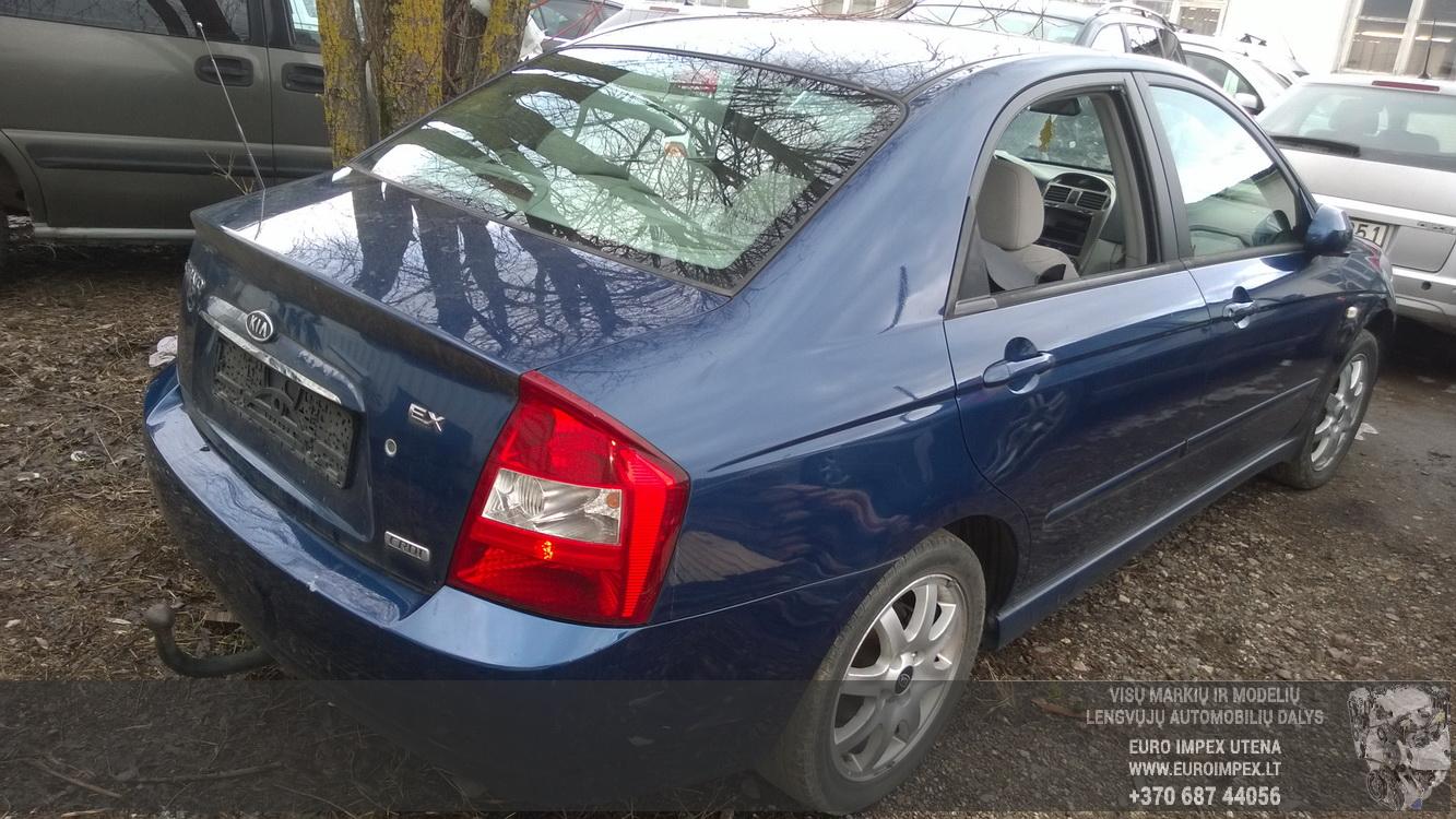 Naudotos automobilio dalys Kia CERATO 2005 2.0 Mechaninė Sedanas 4/5 d. Melyna 2016-2-25