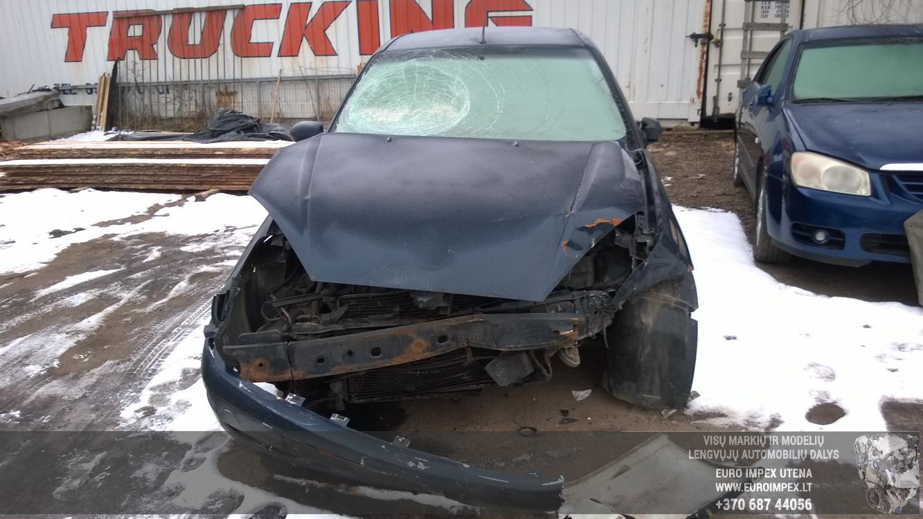 Naudotos automobiliu dallys Foto 2 Ford FOCUS 2001 1.8 Mechaninė Hečbekas 4/5 d. Melyna 2016-3-01 A2632