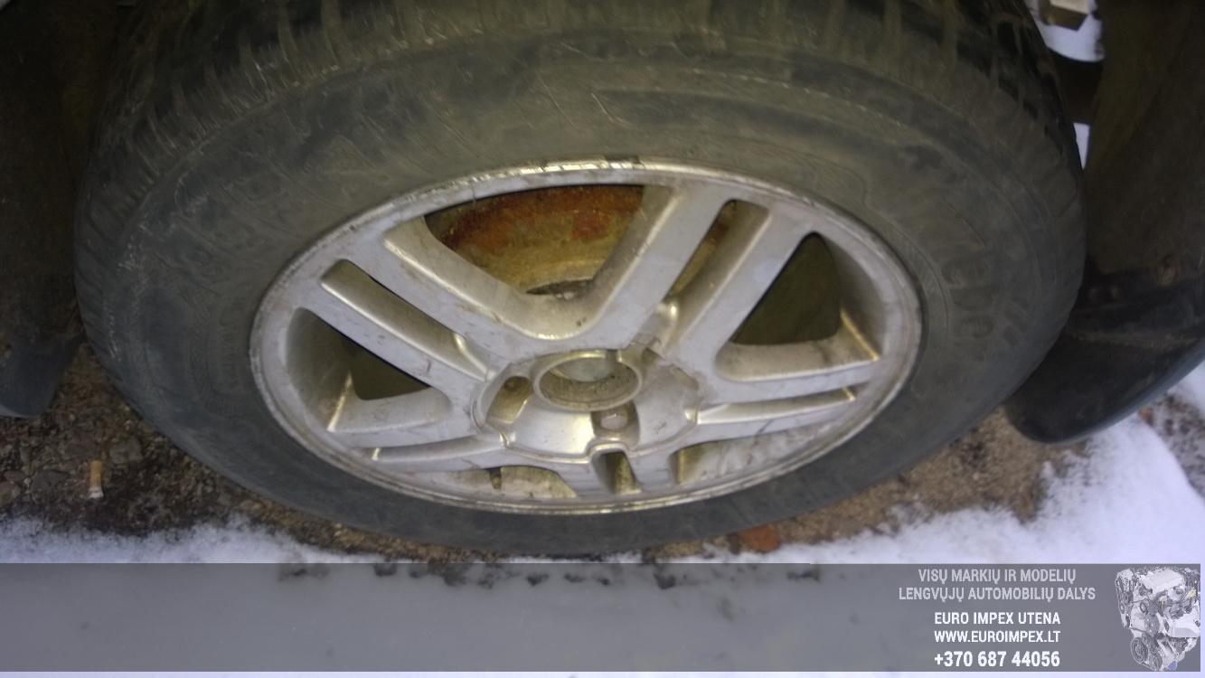 Naudotos automobiliu dallys Foto 8 Ford FOCUS 2001 1.8 Mechaninė Hečbekas 4/5 d. Melyna 2016-3-01 A2632