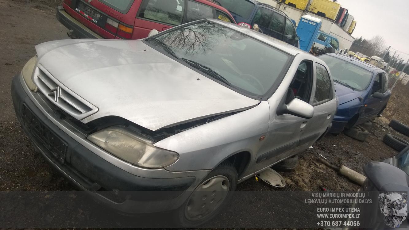 Naudotos automobilio dalys Citroen XSARA 1998 1.8 Automatinė Hečbekas 4/5 d. Pilka 2016-3-09