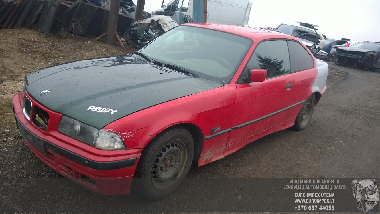 BMW 3-SERIES 1994 1.8 машиностроение
