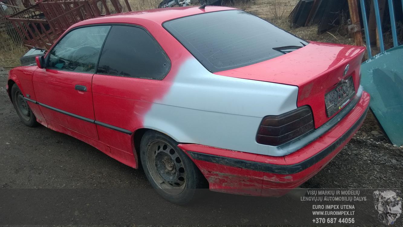 Naudotos automobilio dalys BMW 3-SERIES 1994 1.8 Mechaninė Sedanas 2/3 d. Raudona 2016-3-17
