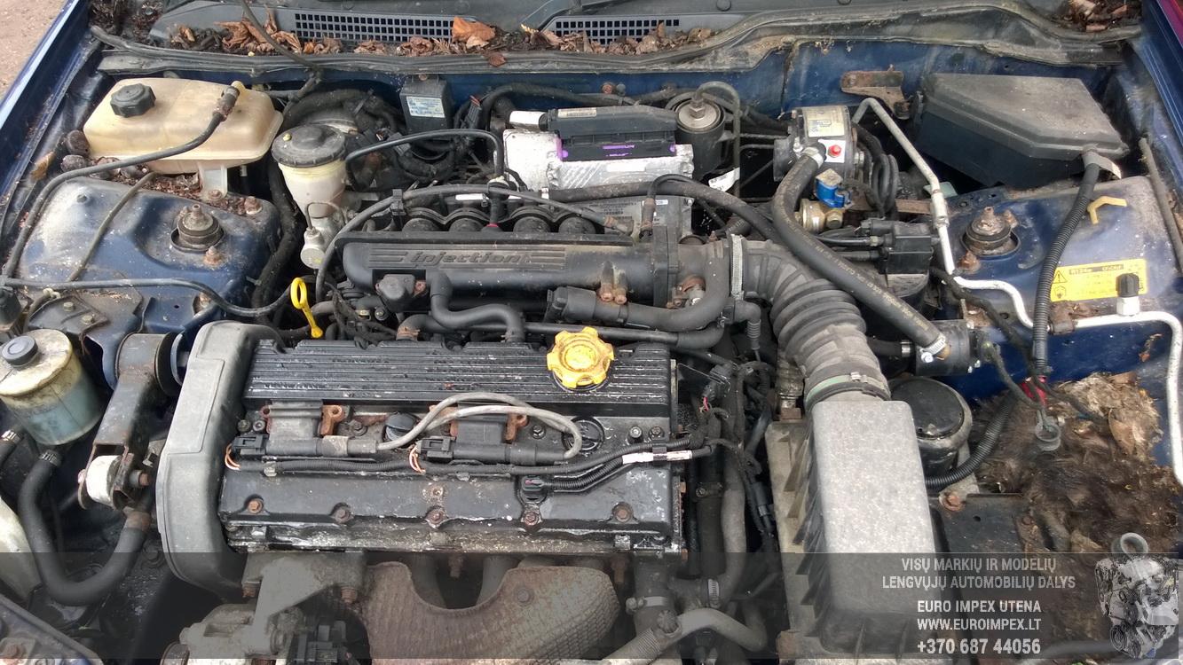 Naudotos automobiliu dallys Foto 8 Rover 45 2000 1.8 Mechaninė Sedanas 4/5 d. Melyna 2016-3-17 A2646