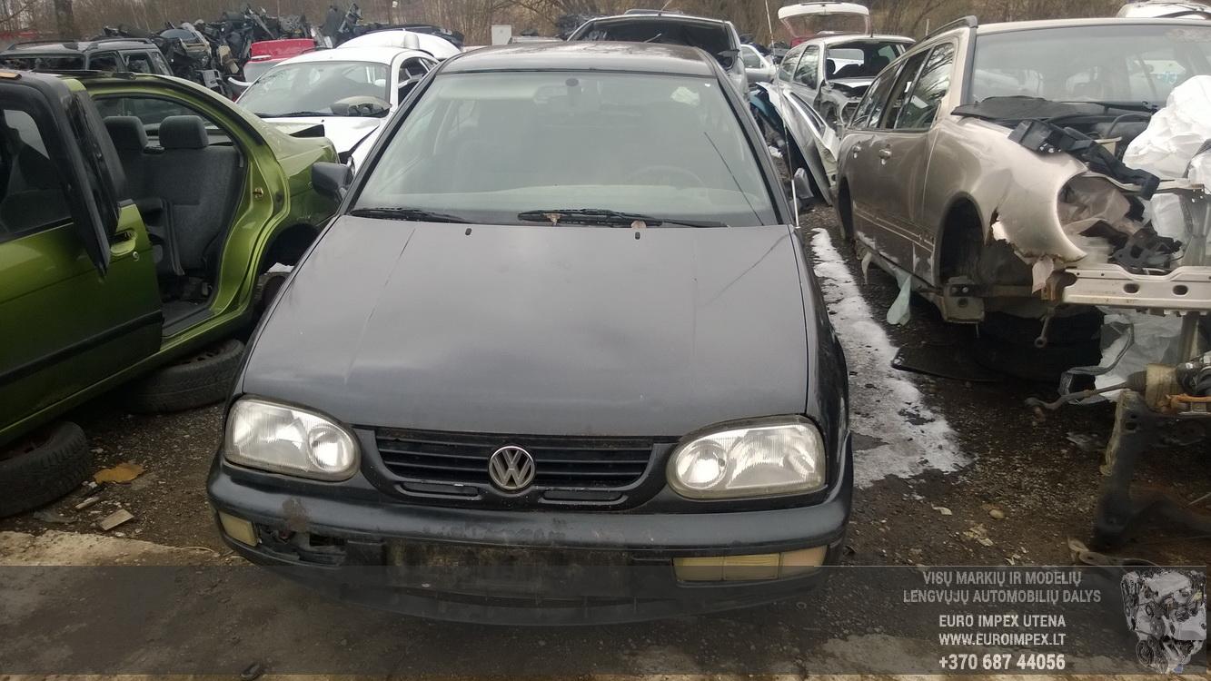 Naudotos automobiliu dallys Foto 2 Volkswagen GOLF 1996 1.9 Mechaninė Hečbekas 2/3 d. Juoda 2016-3-22 A2658