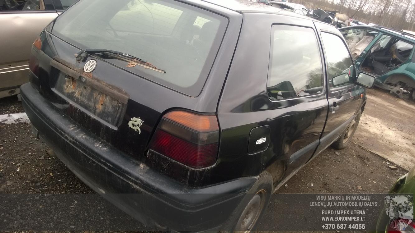 Naudotos automobilio dalys Volkswagen GOLF 1996 1.9 Mechaninė Hečbekas 2/3 d. Juoda 2016-3-22