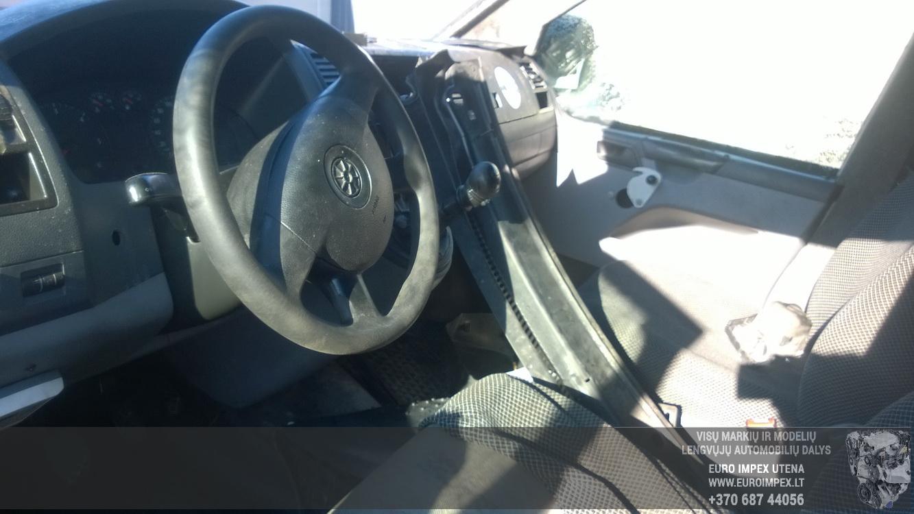 Naudotos automobiliu dallys Foto 8 Volkswagen TRANSPORTER 2009 2.5 Mechaninė Vienatūris 2/3 d. Balta 2016-3-26 A2670