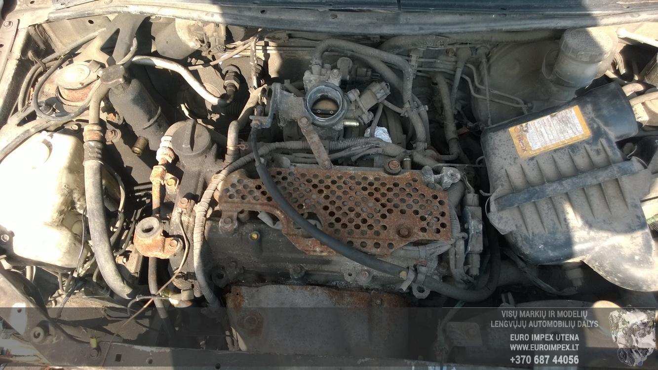 Naudotos automobiliu dallys Foto 8 Daihatsu SIRION 2002 1.3 Mechaninė Hečbekas 4/5 d. Pilka 2016-3-25 A2667