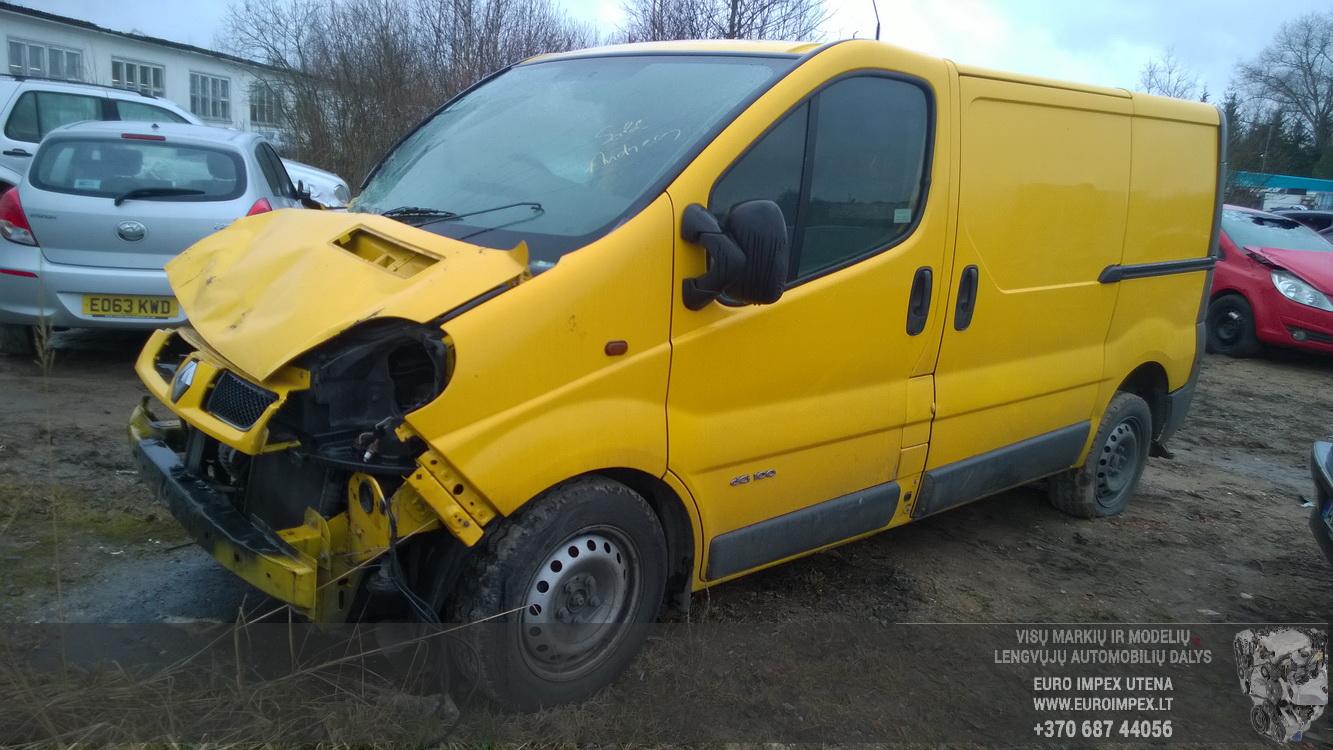 Renault Trafic Van Fuse Box Wiring Library Doors Rear Left Side