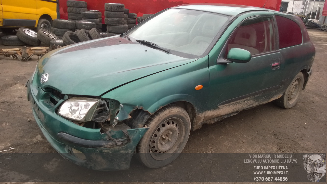 Nissan ALMERA 2000 2.2 Mechanical