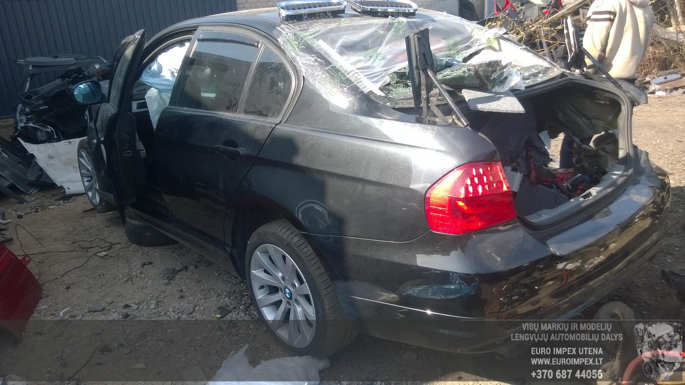 Naudotos automobiliu dallys Foto 6 BMW 3-SERIES 2009 2.0 Mechaninė Sedanas 4/5 d. Juoda 2016-4-11 A2703