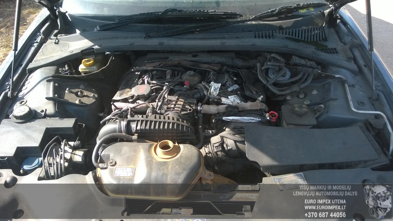 Naudotos automobiliu dallys Foto 8 Jaguar S-TYPE 2005 2.7 Automatinė Sedanas 4/5 d. Pilka 2016-4-12 A2706