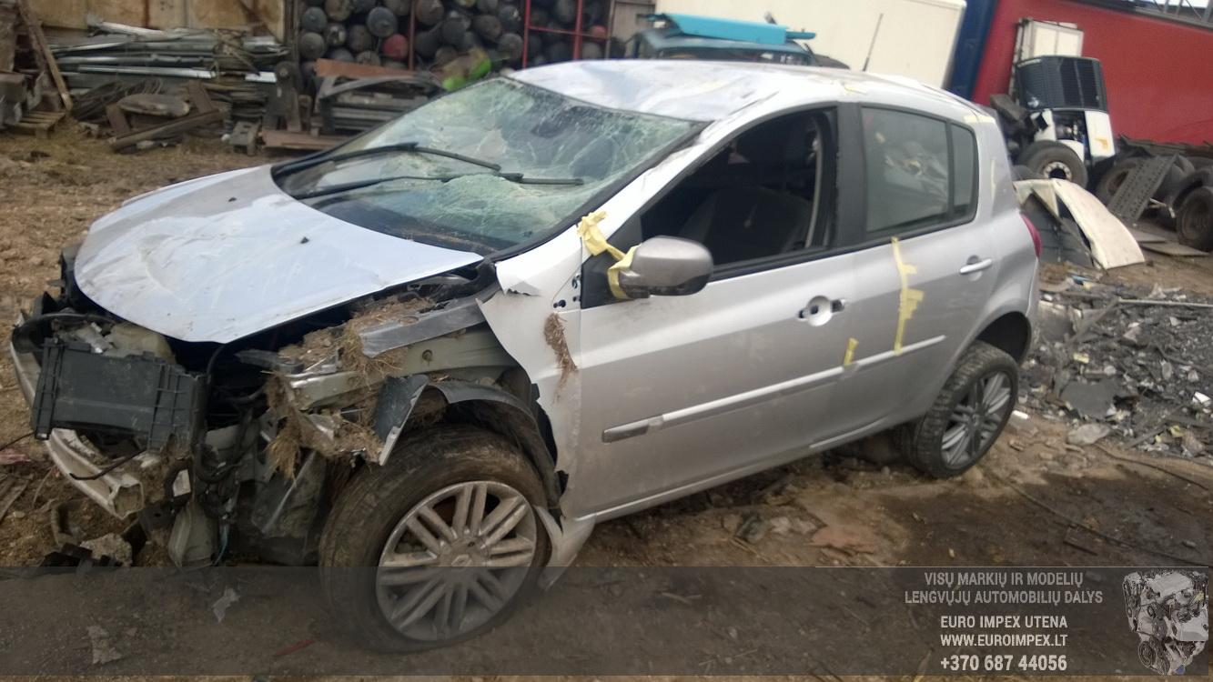 Renault CLIO 2012 1.2 Mechaninė