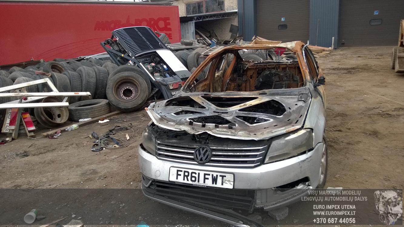 Volkswagen PASSAT 2012 2.0 Mechaninė