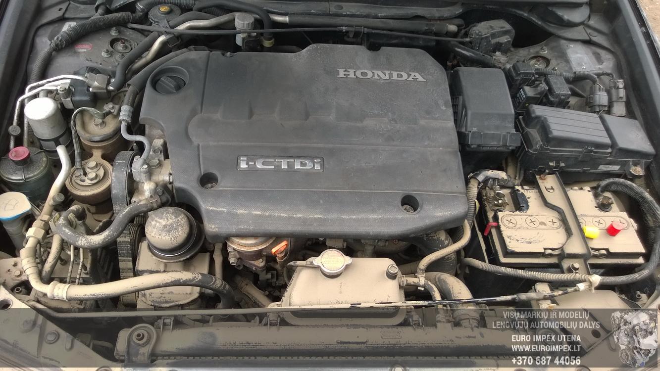 Naudotos automobiliu dallys Foto 7 Honda ACCORD 2007 2.2 Mechaninė Universalas 4/5 d. Juoda 2016-4-12 A2710