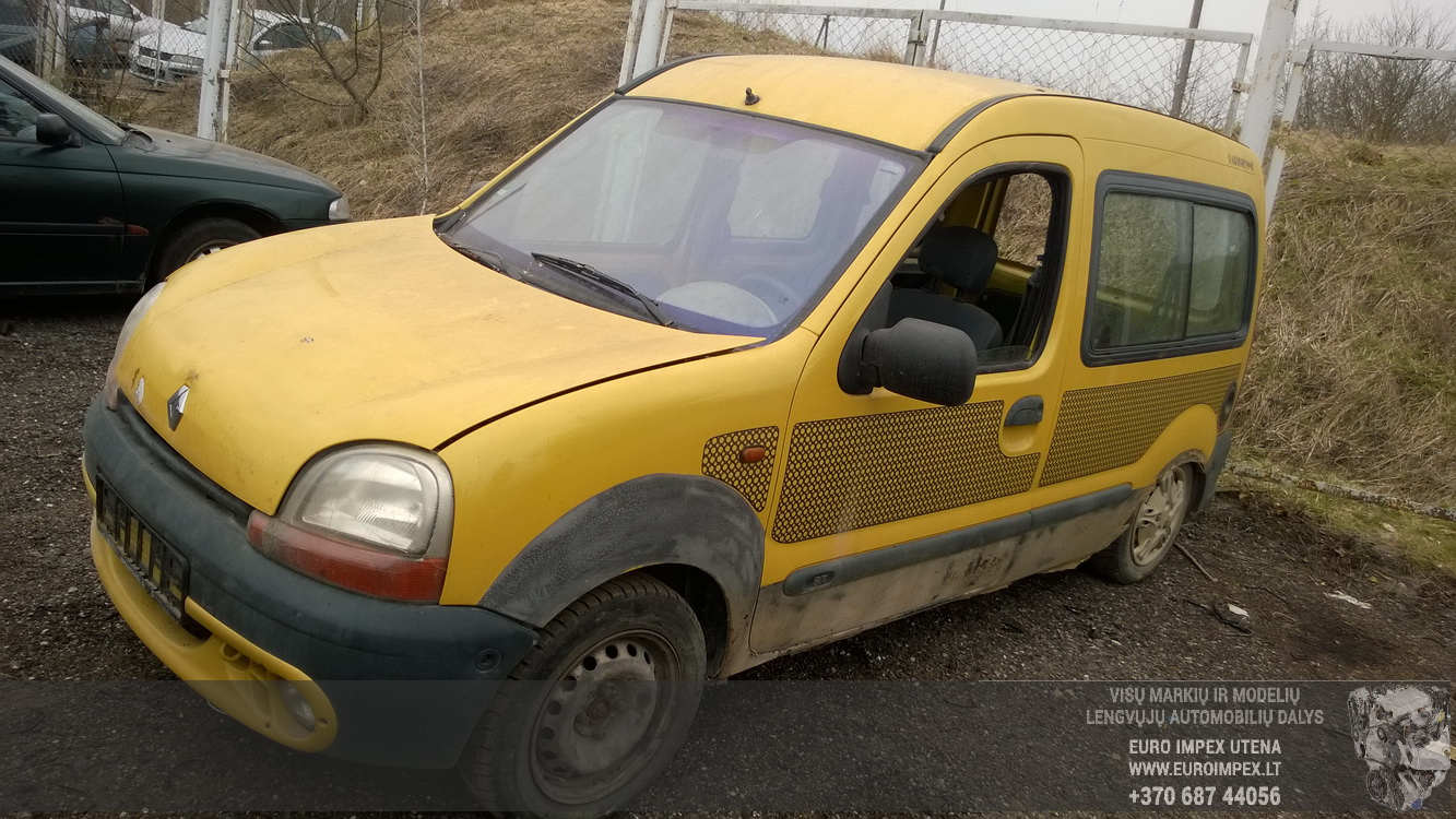 Renault KANGOO 1998 1.2 Mechaninė